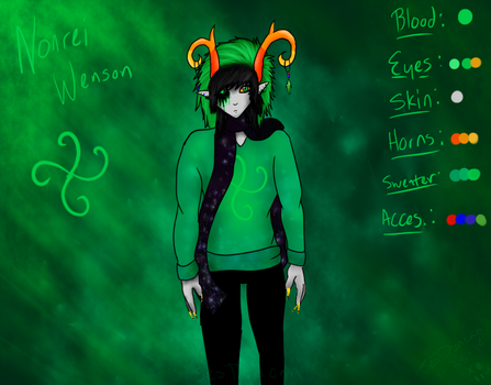 New OC Fantroll: Nonrei Wenson by Moonlight9913