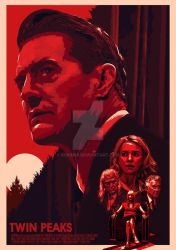 Twin Peaks The Return Poster by sorin88