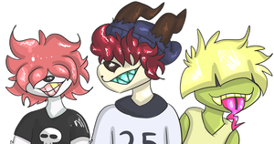 The Bullies by L0UIIS