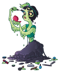 Day 3 Slime by ZoeStanleyArts