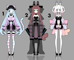 Sychobunn adoptable BATCH OPEN by AS-Adoptables