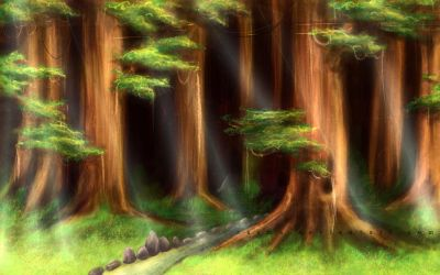 -speedpaint- Giant Forest by Zaema