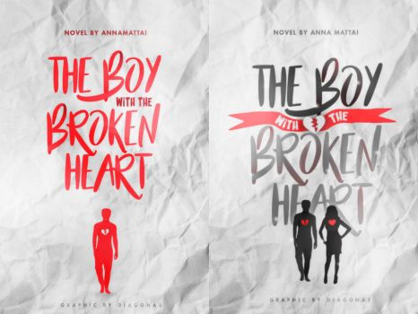 COVER PROGRESSION | the boy with the broken heart by Diagonas