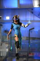 Overwatch Symmetra Cosplay by LadyAngelus