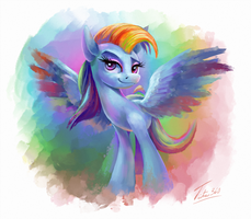 All The Colors by Tsitra360