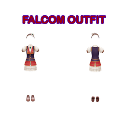 Falcom Outfit DL by ninjapirate10194