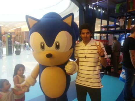 me and Sonic Classic by Just-Call-Me-Sonic