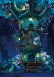 hotel in the forest by nerdmaso