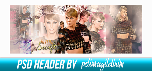 Taylor Swift Header by pelinsuyildirim