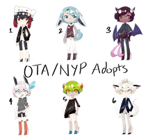 OTA/NYP Adopt Batch [6/6 OPEN] by finnilcky-adopts