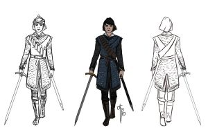 Sabriel cosplay plan by LauraTolton
