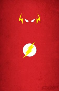 Flash - Minimalist Art by BraianMaster