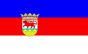 Flag of Lusatia (1918-46 and 1990-present) by ramones1986