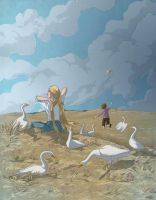 Grimm's: The Goose-Girl by theartful-dodge