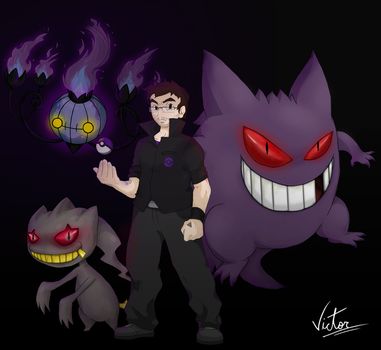 PKMN TRAINER VICTOR wants to battle! by Victor-Sama
