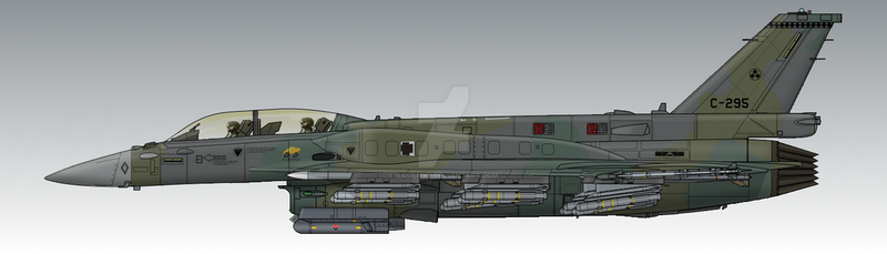 FCU Air Force F-16H by Basilisk2