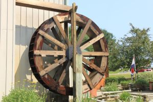 Water Wheel 02 by Thy-Darkest-Hour
