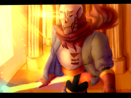 Disbelief Papyrus 1th Phase by AthinaChan