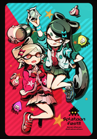 splatoon fest by keijo2