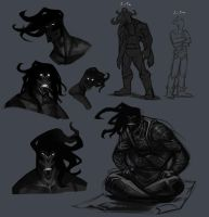 Daral doodles. by Notesz