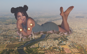 Indian Giantess by GangstaLilith2