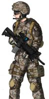 Multicam Rifleman by NDTwoFives