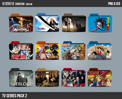 TV Series Folder ICON Pack 2 by kasbandi