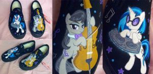 Octavia Scratch Shoes by psaply