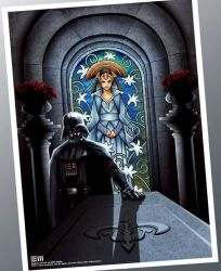 MOURNING FOR PADME Art Print by Erik-Maell