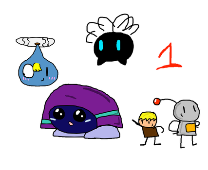 My OCs- 1 by AreYouWithTheCensus