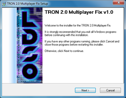TRON 2.0 Multiplayer Fix by redrain85