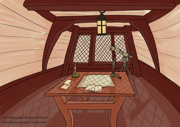 Cabin by Chibiklompen