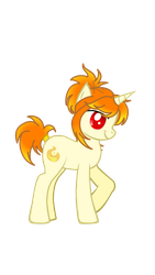 Rapid-Fire, my OC Rapidash X MLP crossover pony by LaceySurprise