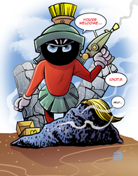 Marvin To The Rescue ! by JINworks