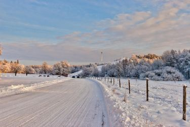 Winter landscape 1 by photodeus