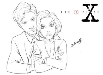 The X Files by andersonmahanski