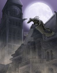 Gargoyle 2 by ravenofsorrows