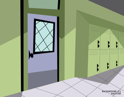 -:Lockers Background 2:- by kagstar
