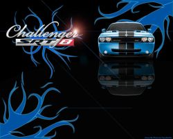 Challenger SRT8 Wallpaper by intenseblue98rt