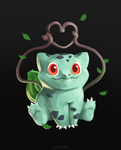 Bulbasaur by Rikkoshaye