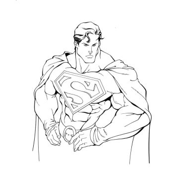 Supes inked by Roland Paris by GavinMichelli