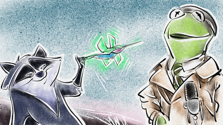 News Flash - Meeko and Flit by Weischede