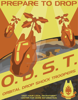 ODST Poster by BoxerSN