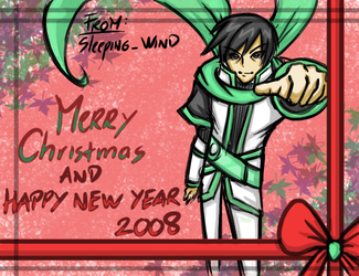 HAPPY NEW YEAR 2008 by Sleeping-Wind
