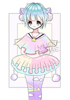 [CLOSED] Kenomimi Adoptable #1 by Chromlyte