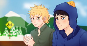 Craig x Tweek - Creek by DaniHoshi