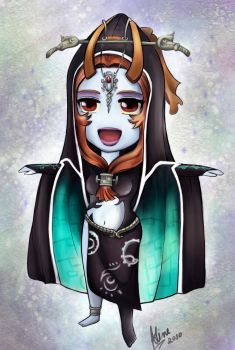 Chibi Princess Midna by AlineMendes