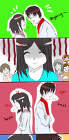 [Kagepro comics] Ayano papa and mama are arguing! by Qisloid