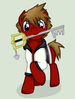 Ponified Sora by DalekWithAKeyblade