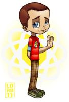 Big Bang Theory- Sheldon by lordmesa